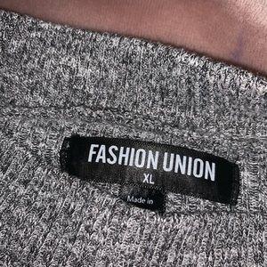 Fashion Union Dresses - ribbed midi dress
